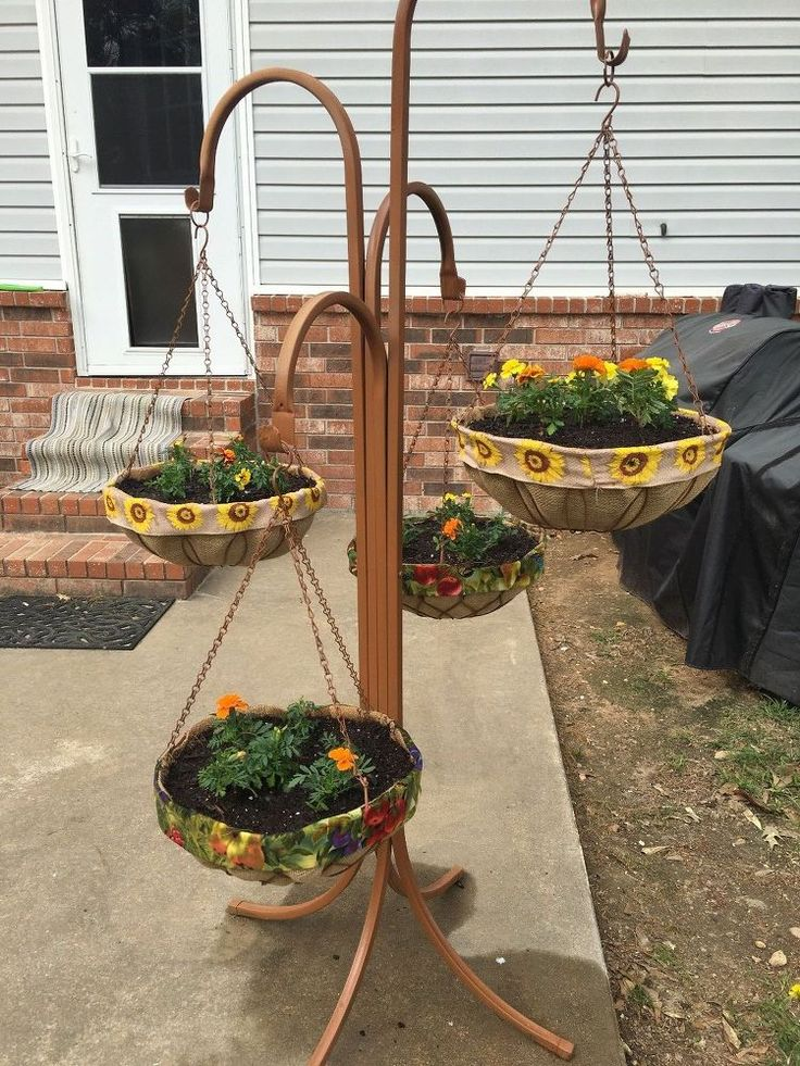 No More Coconut Liners for My Hanging Baskets!