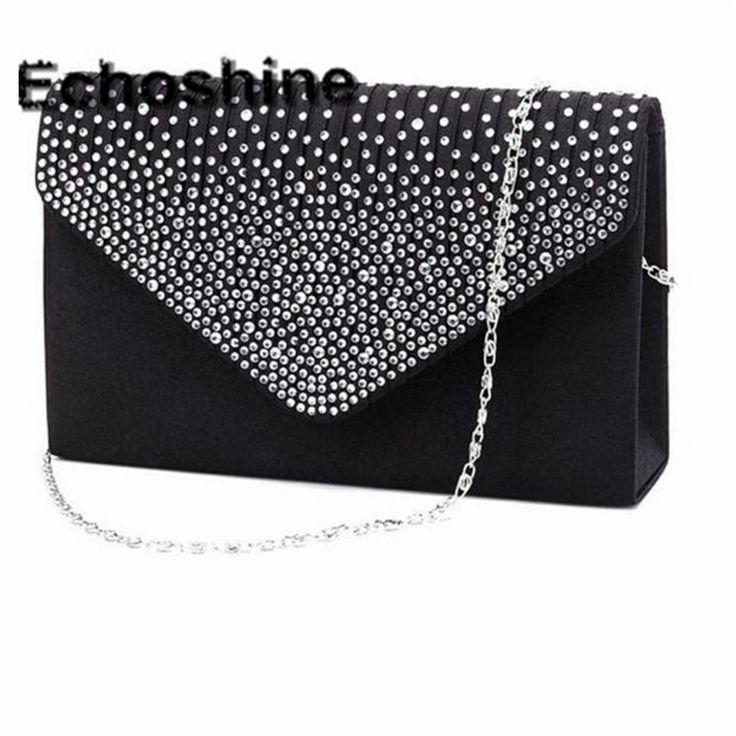 Excellent Quality 2016 NEW Ladies Evening Party Small Clutch Bag Eveningbag Bridal Purse Handbag Evening Bags Bolsas Feminina