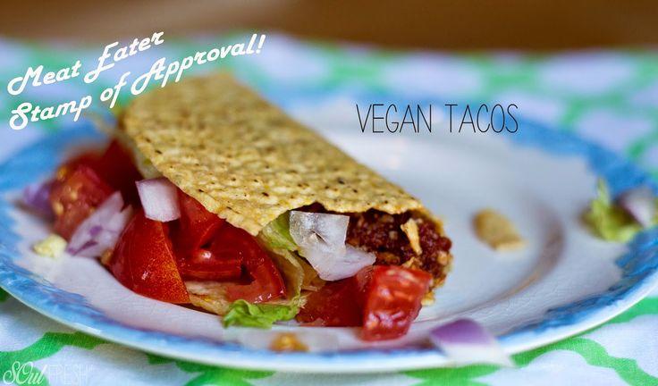 Vegan Tacos - Meat Eater Approved at SOulFreshtheblog.com