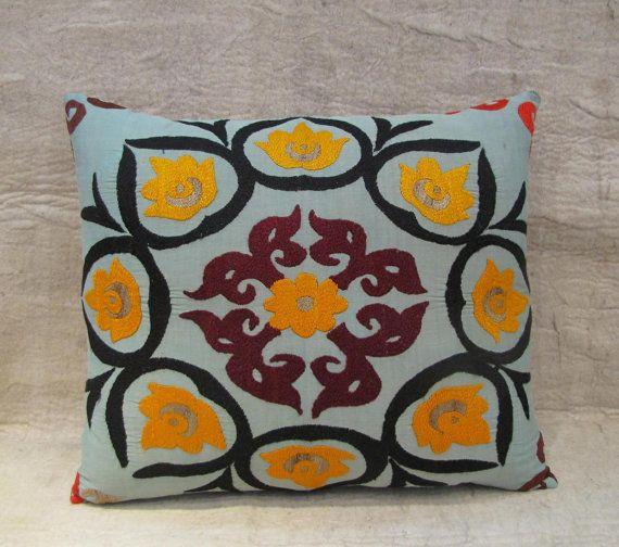 vintage suzani pillow