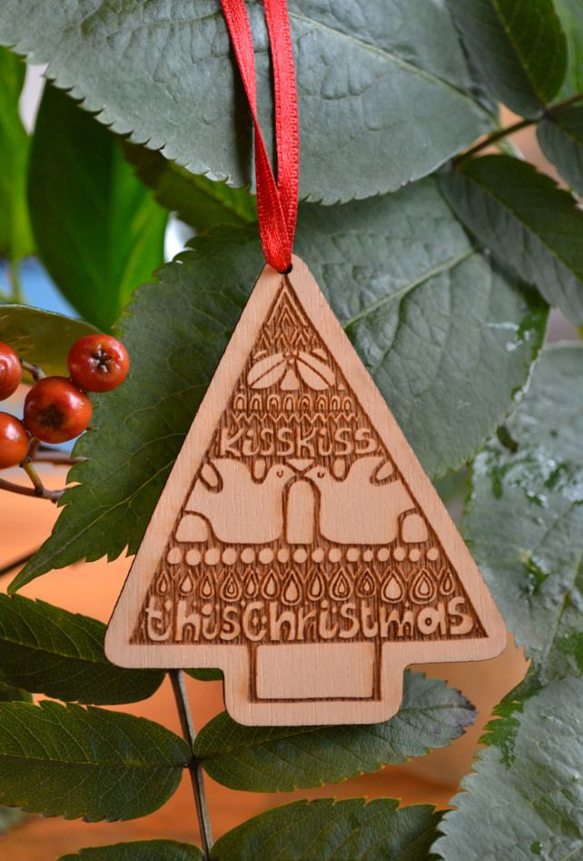 Kissing Tree Christmas decoration £6.00