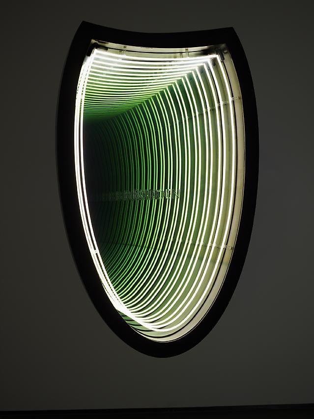 Iván Navarro in Light Show at the Hayward Gallery London