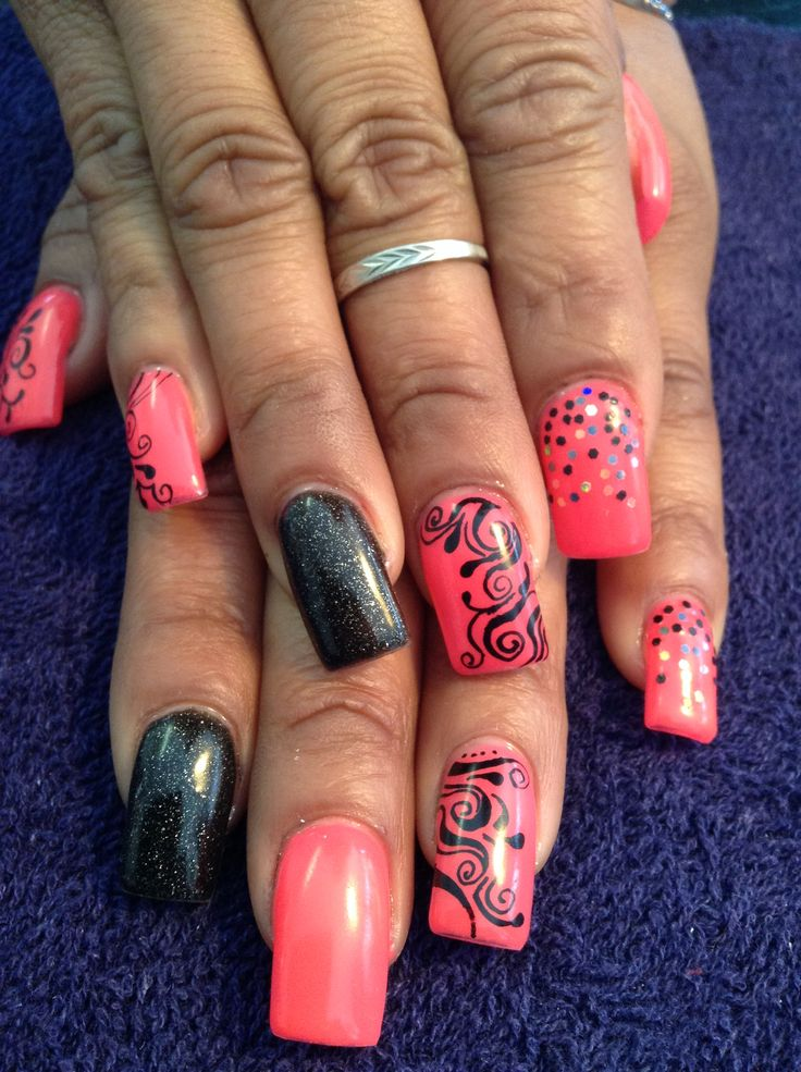 24 best nail images on Pinterest   Fit, Makeup and Fingernail designs