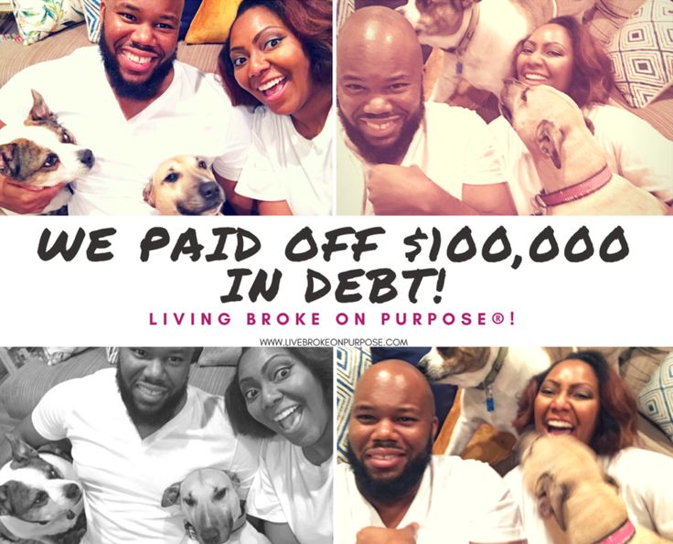 We've Paid Off $100,000 of Our Debt Living Broke on Purpose® ~October 2017 Debt Payoff Report