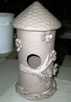 Mrs. Art Teacher!: Clay Bird Houses