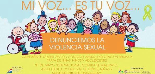 los niÑos gritan , no mas violencia sexual a los infantes, protege