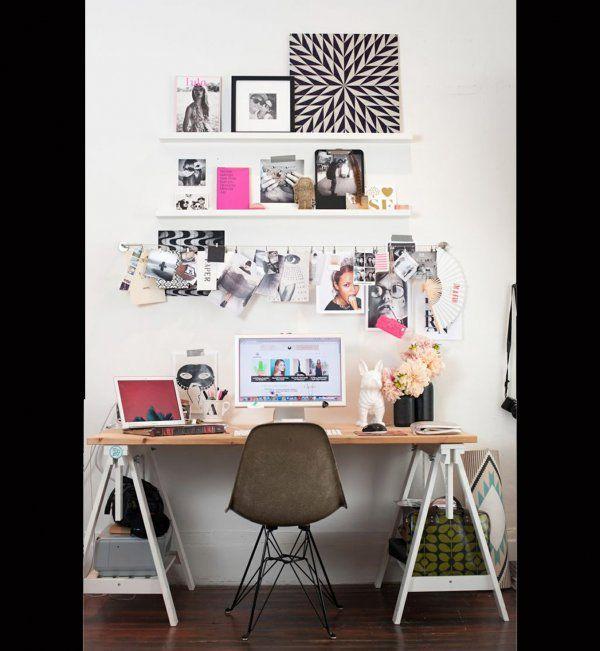 Idée décoration pour mon bureau : tendance arty