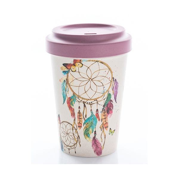 Mug Thermos Bambou - Dreamcatcher Bamboo cup