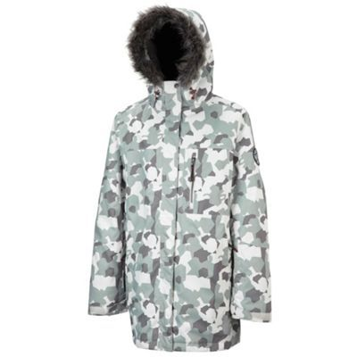 Tog 24 White camo igloo milatex ski jacket- at Debenhams.ie