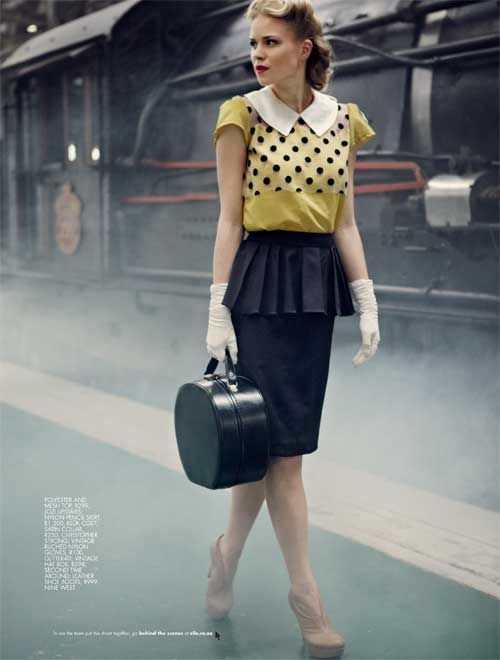 Strangers When We Meet | Louise by Jean-Pierre Fourie for Elle South Africa, March 2012