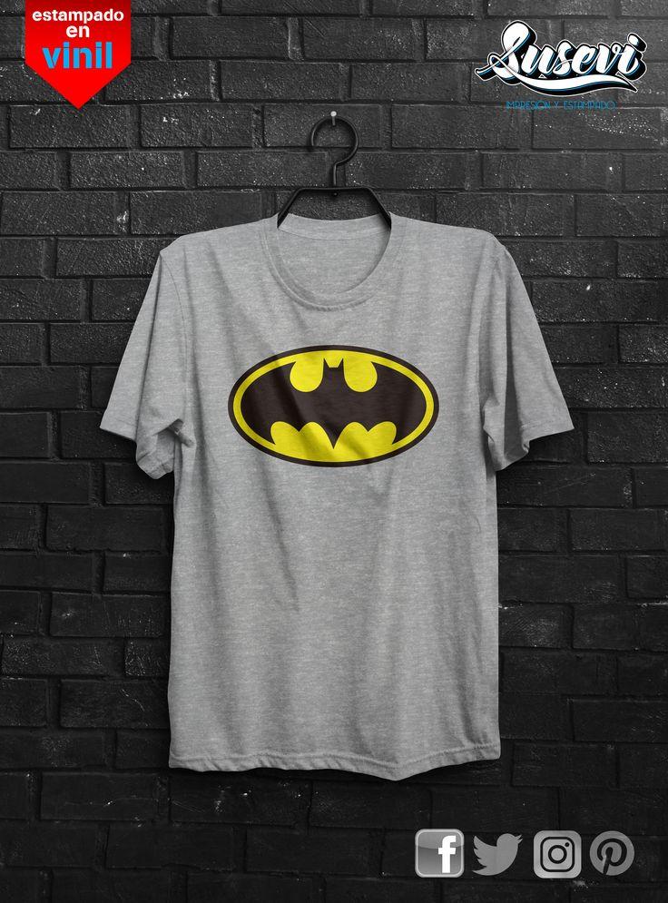 Playera personalizada-batman-hombre-estampados #comics  #playeras #batman