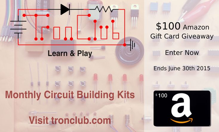 Enter this giveaway to win a $100 Amazon® Gift Card by Tron-Club™