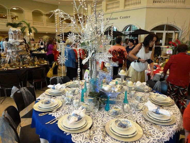 Christmas in Blue (Holiday Tables 2013-Idlewild Baptist