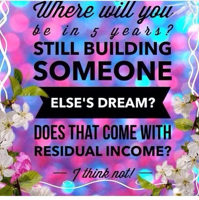 Onde vais estar daqui a 5 anos? Ainda a construir o sonho de outros? Isso vem com um rendimento residual?