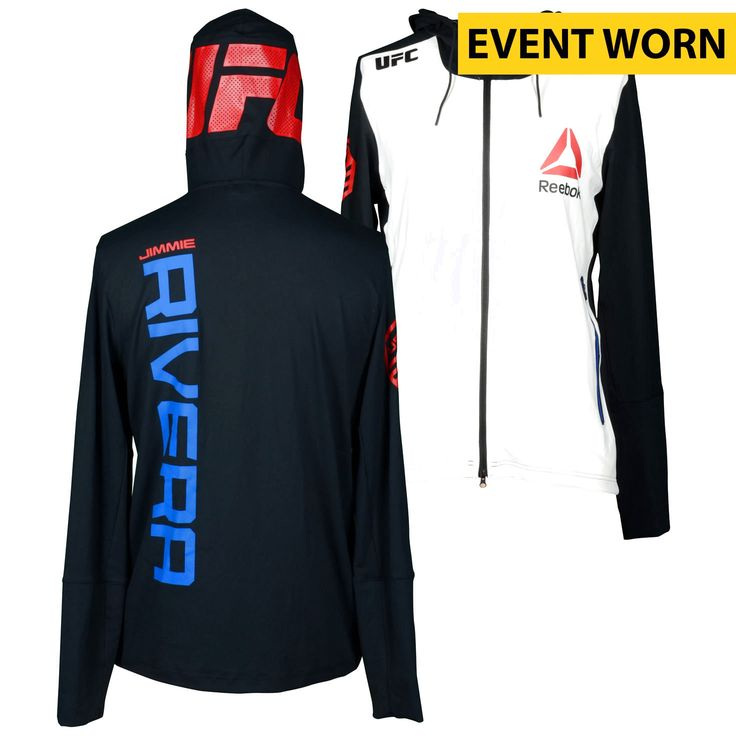 Jimmie Rivera Ultimate Fighting Championship UFC Fight Night Bisping vs. Leites Event-Worn Walkout Hoodie - Defeated Marcus Brimage via First Round Knockout - $239.99