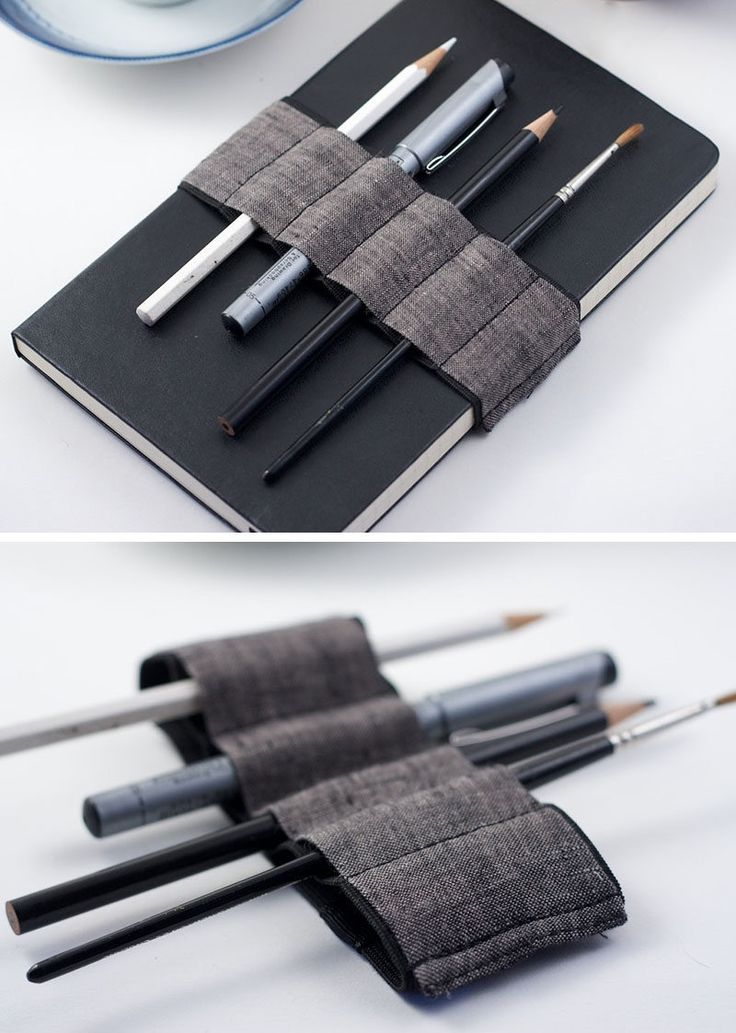 40 Awesome Gift Ideas For Architects And Interior Designers // A bandolier for their pens and pencils.