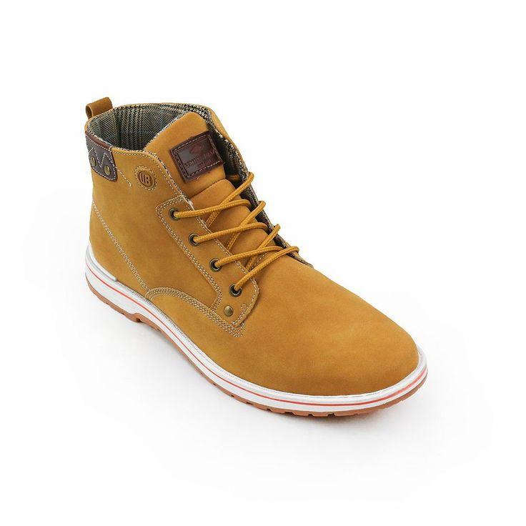Unionbay Tonasket Men's Casual Boots, Size: medium (8.5), Beig/Green (Beig/Khaki)