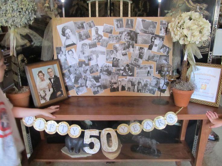 Unusual Golden Wedding Anniversary Gift Ideas: 25+ Unique 50th Birthday Centerpieces Ideas On Pinterest