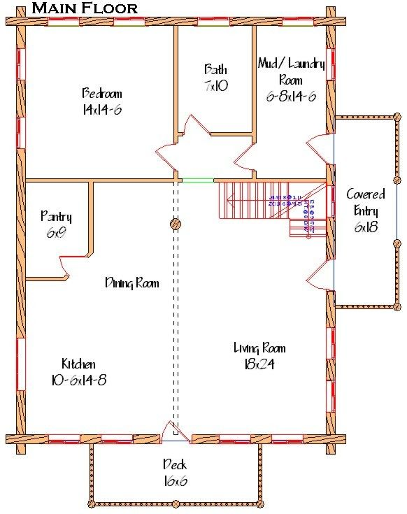 sample house plans for 30x40