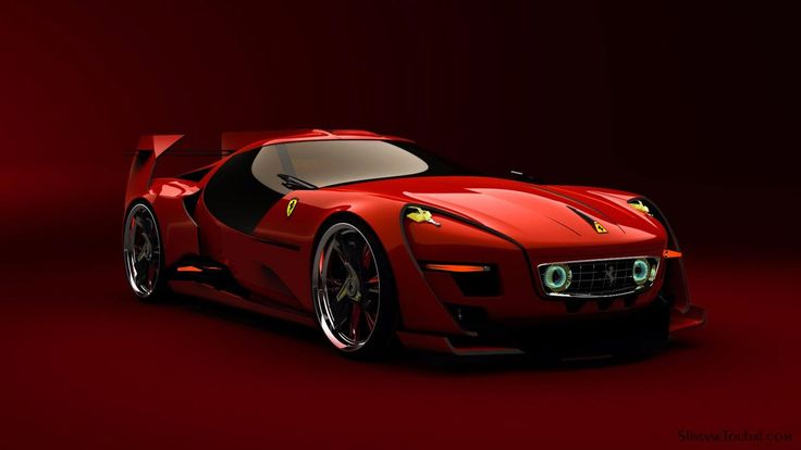 Ferrari 250 takes on a Neo Retro Design under the direction of Spain-based artist