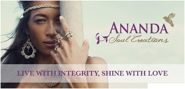 Beautiful ethically sourced silver and semi precious stone jewellery from Ananda Soul Creations.