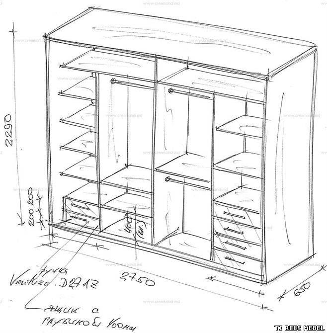 шкаф купе 3 метра сколько дверей надо: 22 тыс изображений ...
