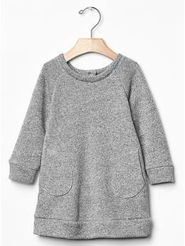 Marled sweatshirt dress | Gap