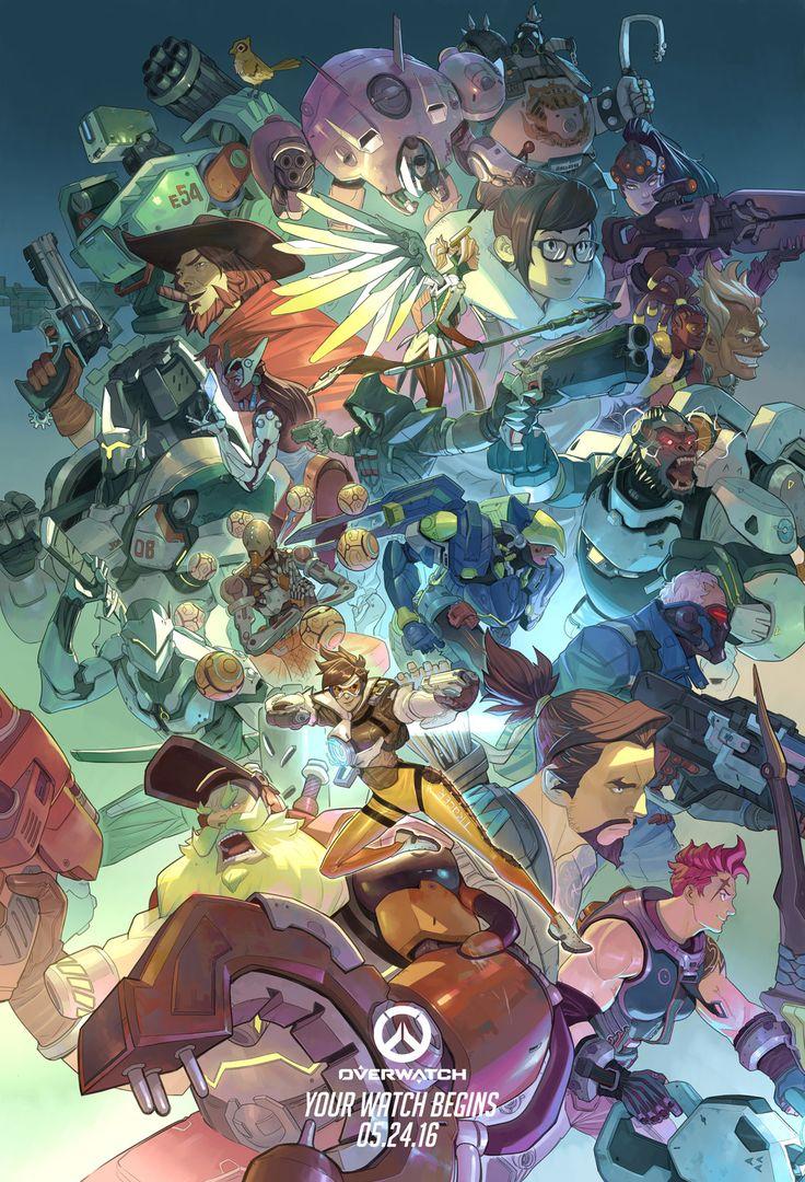 Overwatch Ultimate - color by Nesskain.deviantart.com on @DeviantArt