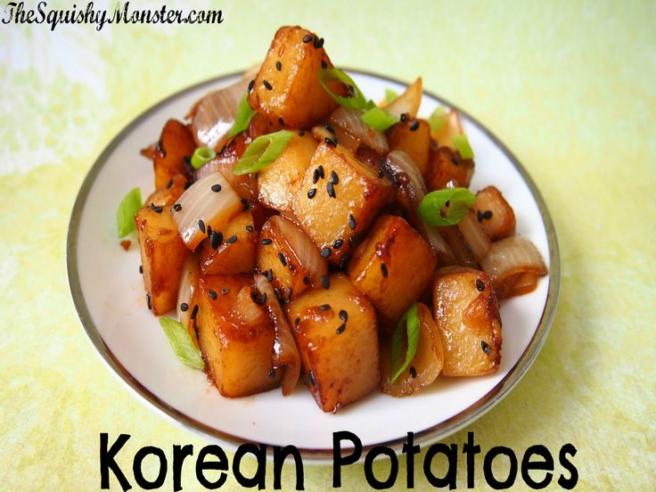 Best 25 korean potatoes ideas on pinterest korean potato side easy korean potatoes side dish recipe video by thesquishymonster ifood forumfinder Gallery