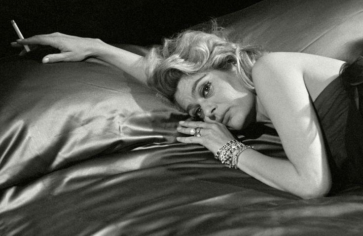 "Herbert List   Actress Melina MercouriDuring the Filming of VittorioDe Sica's ""Giudizio Universale,""Naples, Italy   1961"