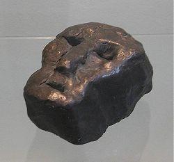 1999, Kopf, bronze ca. 12 x 9 cm