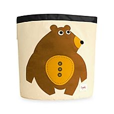 image of 3 Sprouts Bear Storage Bin