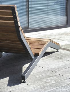 mmcité - products - park benches - rivage