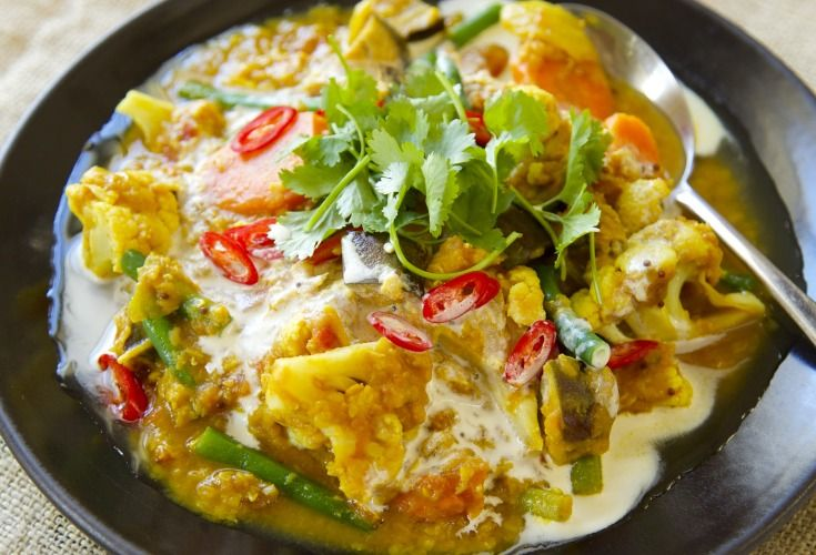 Lentil Vegetable Curry - Nadia Lim
