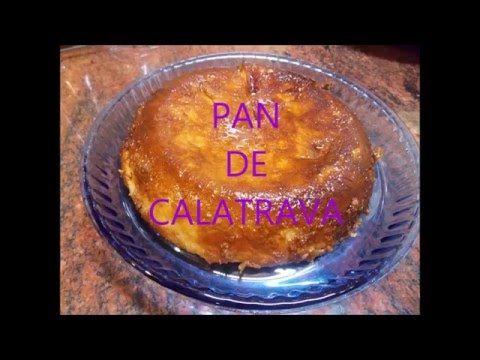 Cómo hacer Pan de Calatrava - Postre murciano  fácil y rápido - YouTube