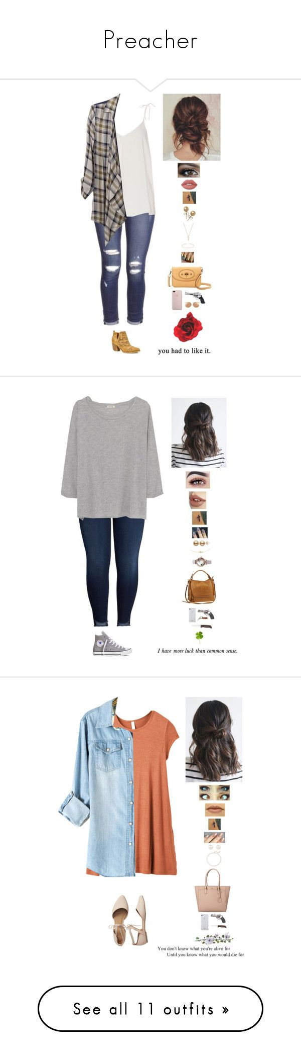 """""""Preacher"""" by mollyr5 ❤ liked on Polyvore featuring River Island, mi.im, Daytrip, Lime Crime, Bling Jewelry, Gucci, UGG Australia, Revolver, Linda Farrow and KUT from the Kloth"""