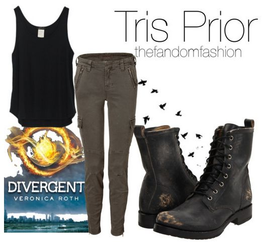 Tris inspired.....WOOT! I say go Divergent fashion!