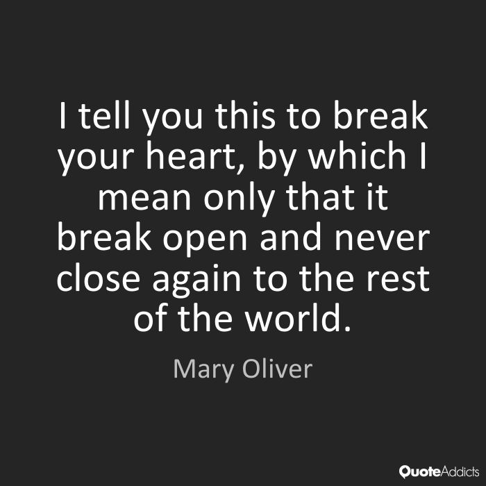 Lead - Mary Oliver