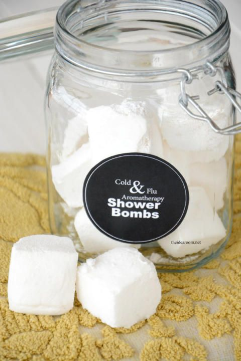 Aromatherapy and Cold & Flu Shower Bombs | The Idea Room