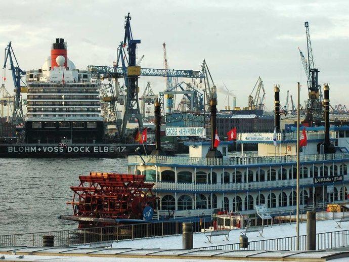 Bilder: NATO-Schiffe im Hafen