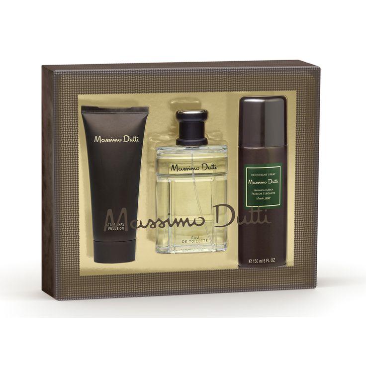 Massimo Dutti EDT Vapo 100 ML + After Shave 100Ml + Deo Spray 150 Ml - Visita nuestra tienda #outlet www.entretretiendas.com para ver más ofertas y promociones.