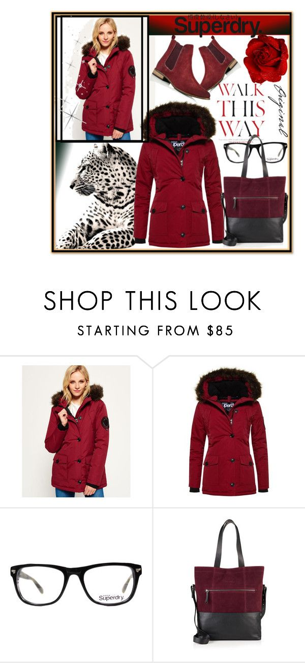 """The Cover Up – Jackets by Superdry: Contest Entry"" by selly111528 ❤ liked on Polyvore featuring Superdry and Anja"