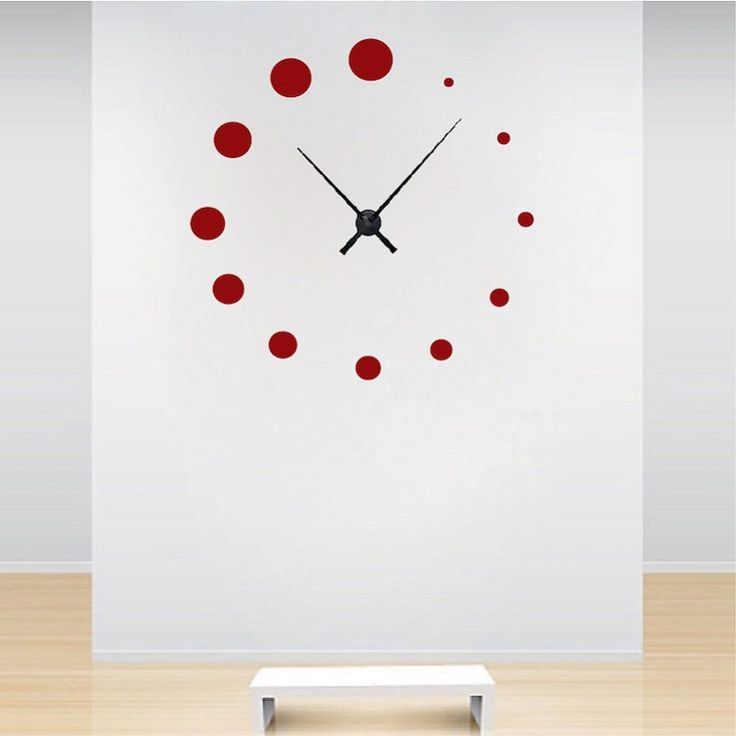 Trendy Design Wall Decals : Best images about clock wall decals on