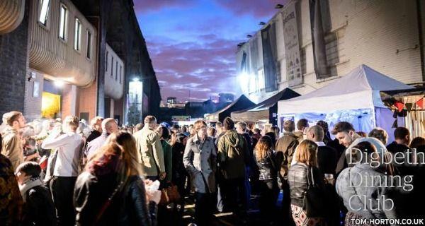 Digbeth Dining Club 2nd Birthday Street Closure Party Birmingham | DesignMyNight