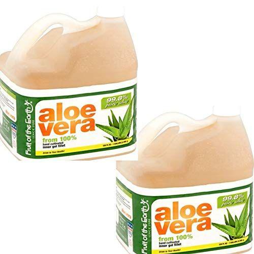 Fruit Of The Earth Aloe Vera, 128 Fluid Ounce (2 Gallon ...