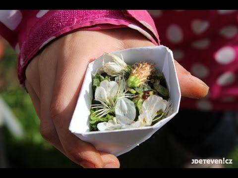DIY Origami papírový kelímek