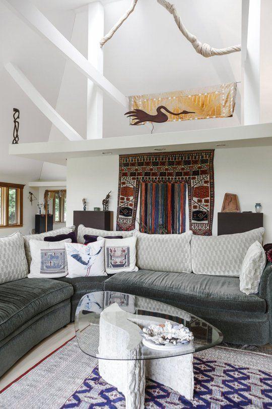 Douglas U0026 Carylu0027s Worldly Zen Inspired Home U2014 House Tour