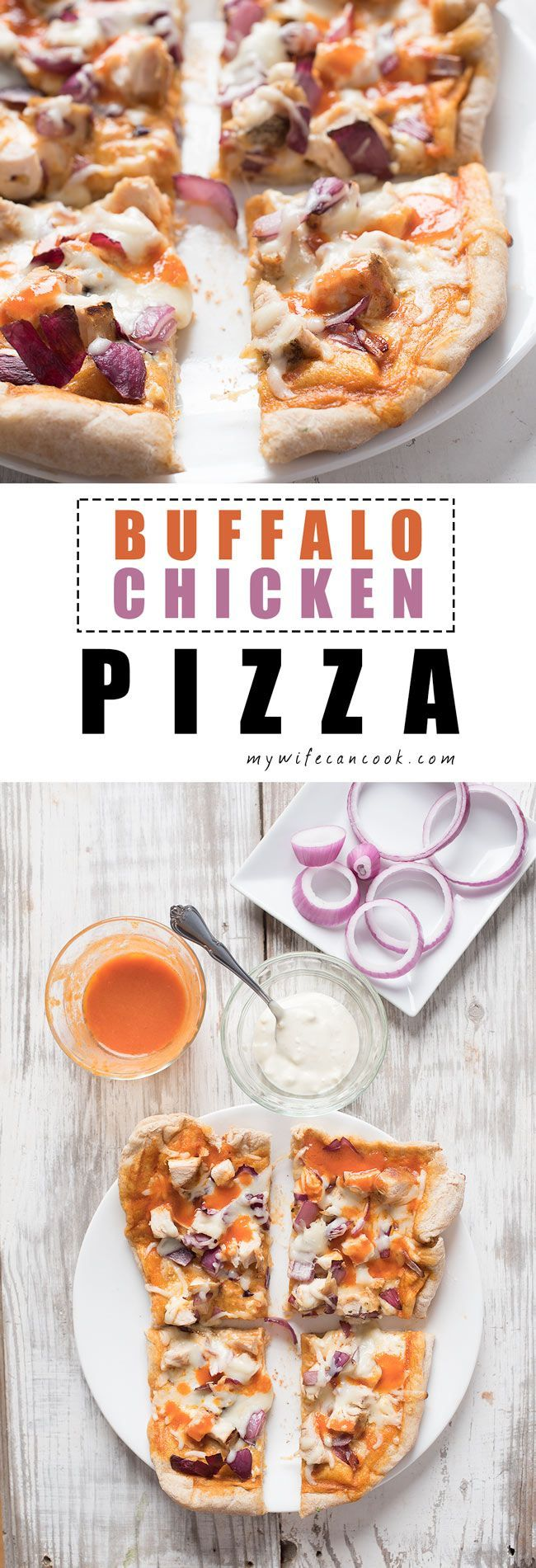 When you love pizza and you love chicken wings it's only natural that you love Buffalo Chicken Pizza.
