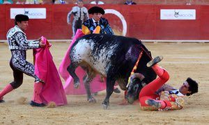 Spanish bullfighter Victor Barrio, 29, is gored in Teruel.He died from the wounds.