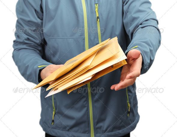 Realistic Graphic DOWNLOAD (.ai, .psd) :: http://jquery.re/pinterest-itmid-1006993142i.html ... Mail letter envelopes delivery ...  blue, courier, deliver, delivering, delivery, envelope, express, hand, holding, letter, mail, male, man, order, package, parcel, person, post, postal, postman, service, shipping, worker  ... Realistic Photo Graphic Print Obejct Business Web Elements Illustration Design Templates ... DOWNLOAD :: http://jquery.re/pinterest-itmid-1006993142i.html